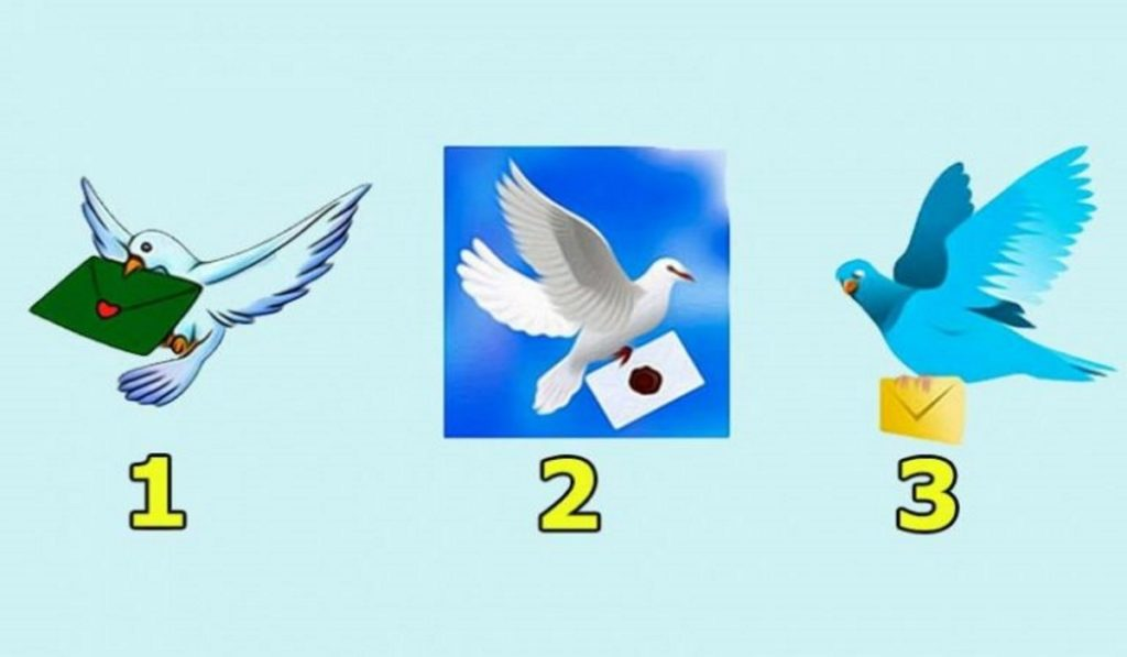 Choose a Dove and Find Out What Will Happen to You in The Next 3 Days