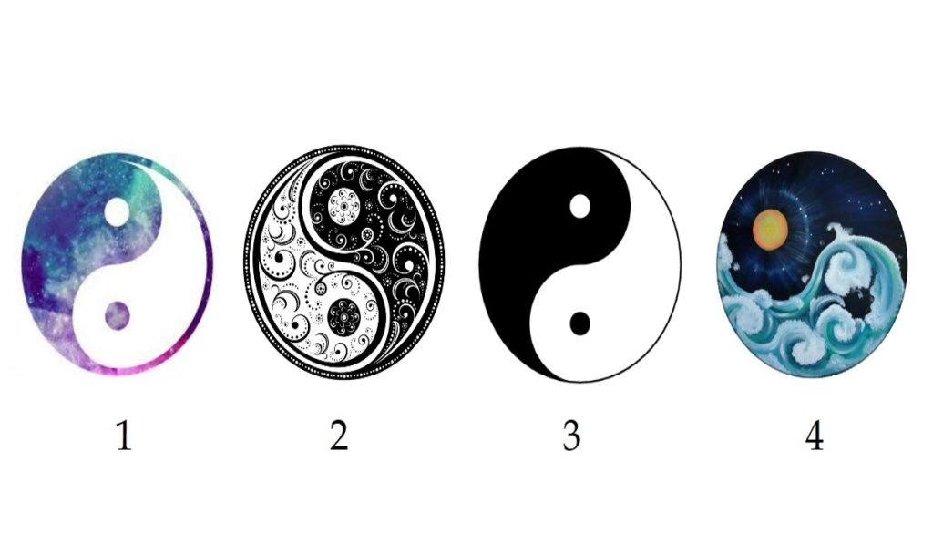 Choose a Yin Yang Shape to Reveal What Kind of Positive Vibes You Own