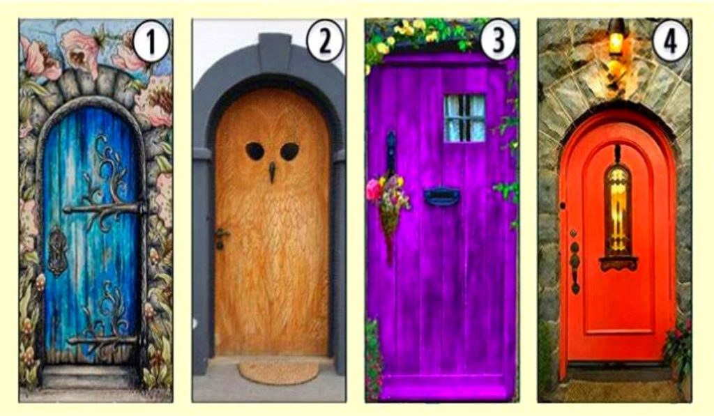 Open One of the Following Doors and Discover an Important Trait of Your Personality